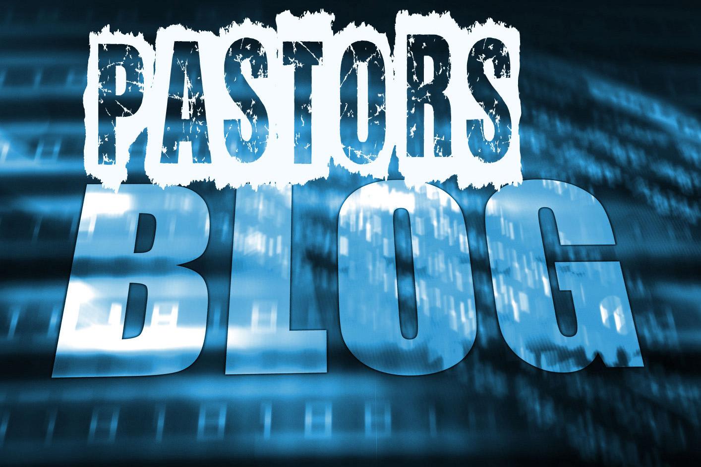 pastors blog