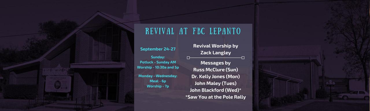 FBC Lepanto Revival