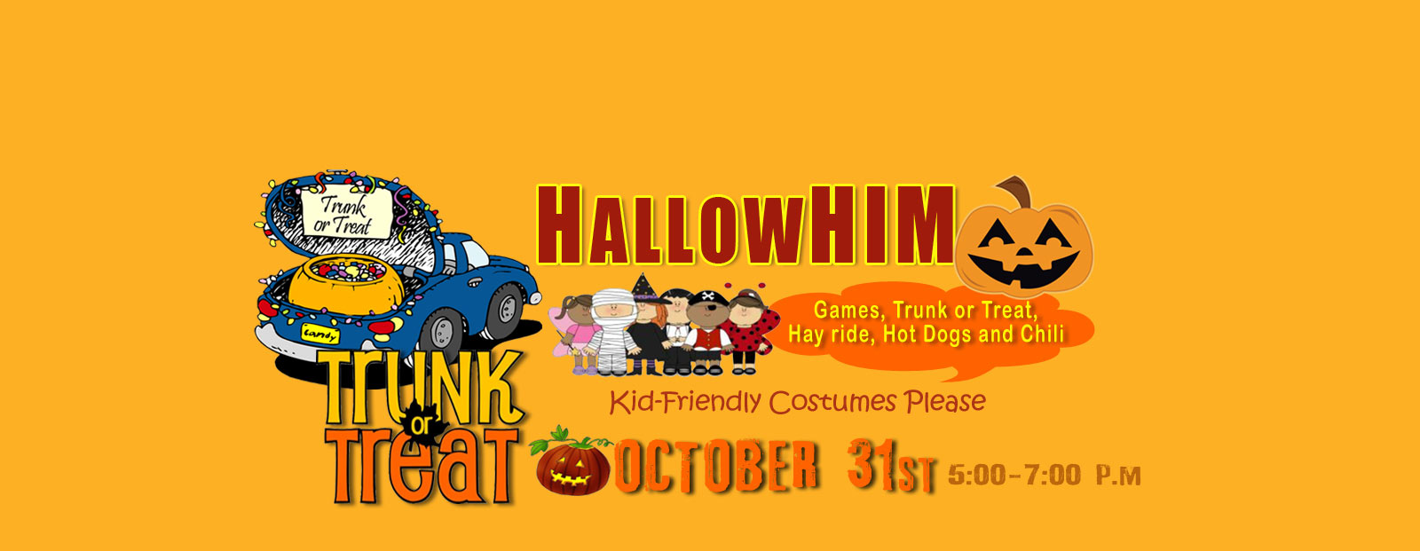 HallowHim Trunk or Treat